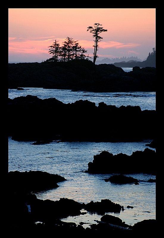 Ucluelet Sunset - Ucluelet, British Columbia