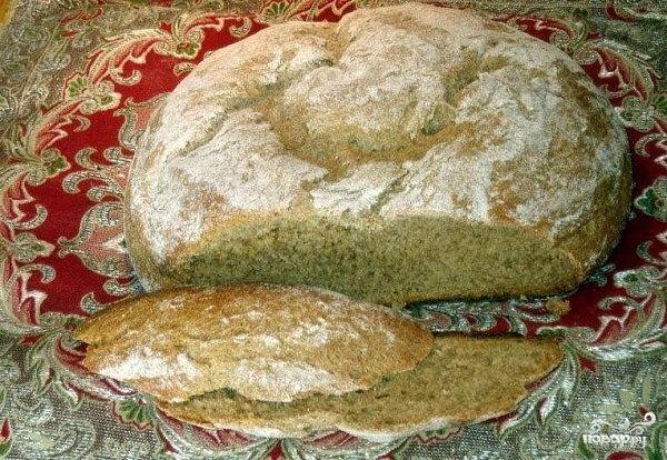 Черный хлеб в духовке - пошаговый рецепт с фото на Повар.ру