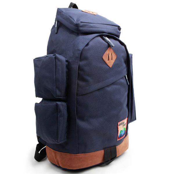 Multi Pocket Backpack Mens College Rucksack ADRENA 502 (3)