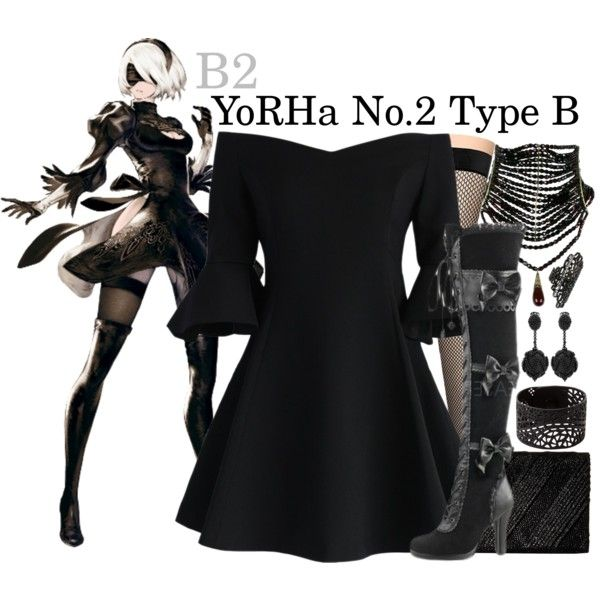 || B2 ~ NieR:Automata || by freezespell on Polyvore