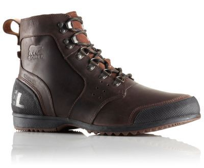 Full-grain waterproof leather upper, removable molded EVA footbed, and rugged vulcanized rubber outsole promise ultimate comfort and support in this outdoors-inspired boot.