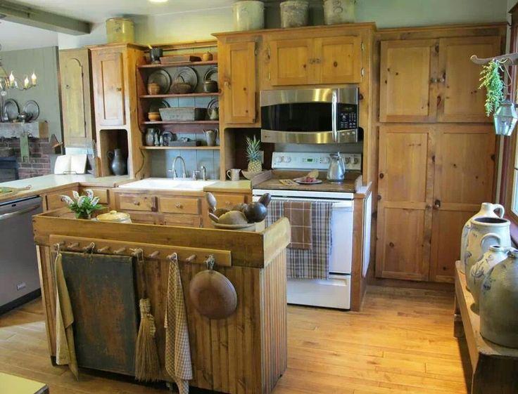 17 Best images about primitive kitchen on Pinterest