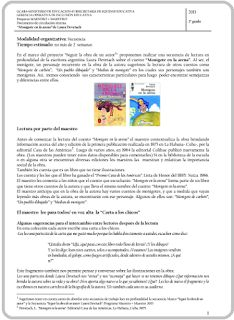 """Secuencia: Laura Devetach -""""Monigote en la arena"""" Programa M+M (2013)"""