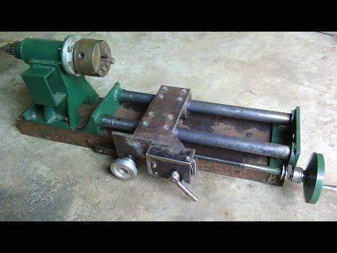 Homemade lathe for metal