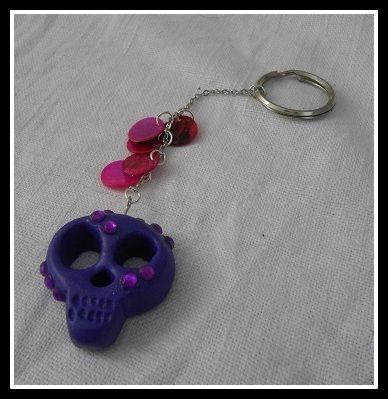Fimo keychain