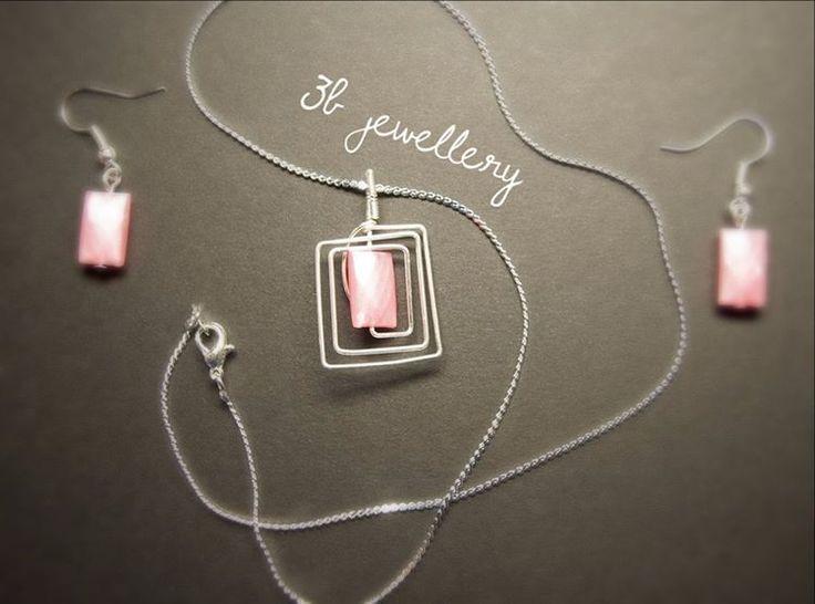 #easy but #elegant simple set #3bjewellery #wirewraping #beginner