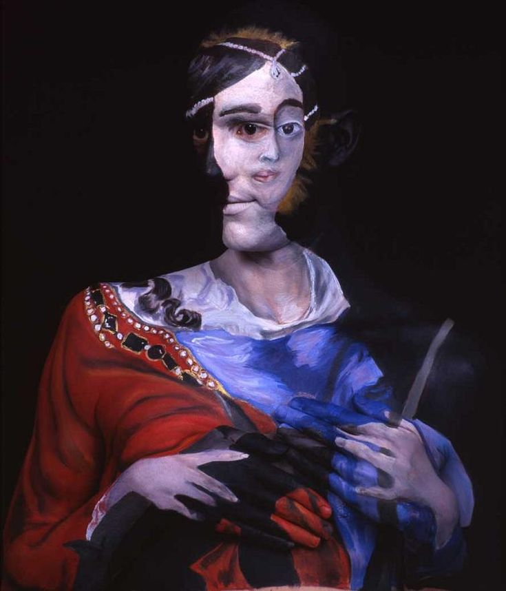 Museum Anatomy: Body Painting by Chadwick & Spector