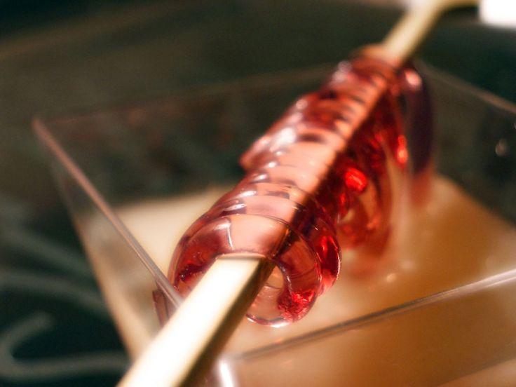 Spaghetti de fruits rouges | Cuisine Moléculaire