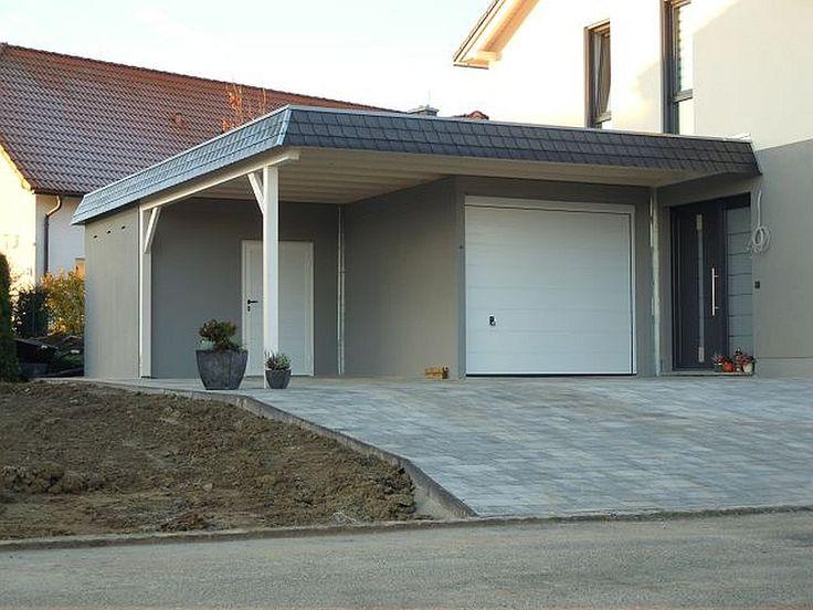 Garage mit carport am haus  Image associée | Architecture | Pinterest | Architecture