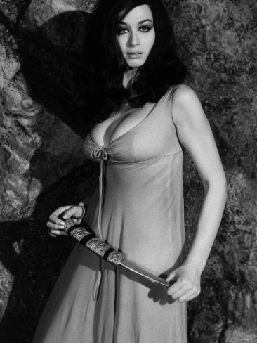 """Valerie Leon in a scene from the """"Blood from the Mummy's Tomb"""", 1971"""