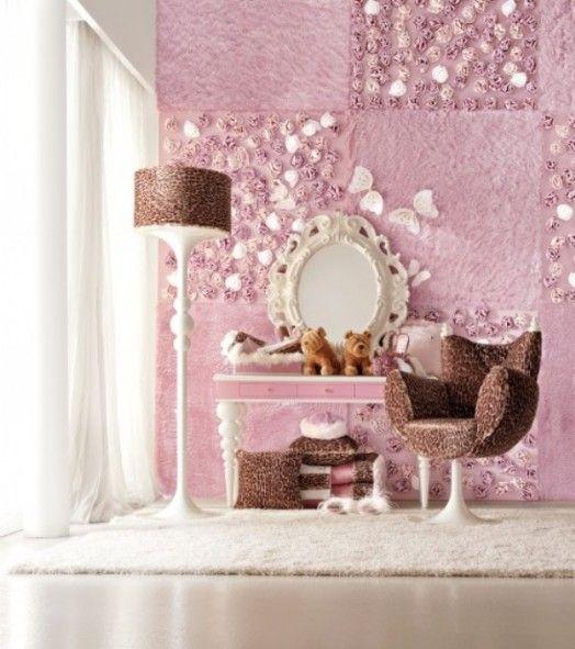Stilvolle, rosabraune Kinderzimmer Designs - traumhaftes Interieur für jedes Mädchen  - #Kinderzimmer