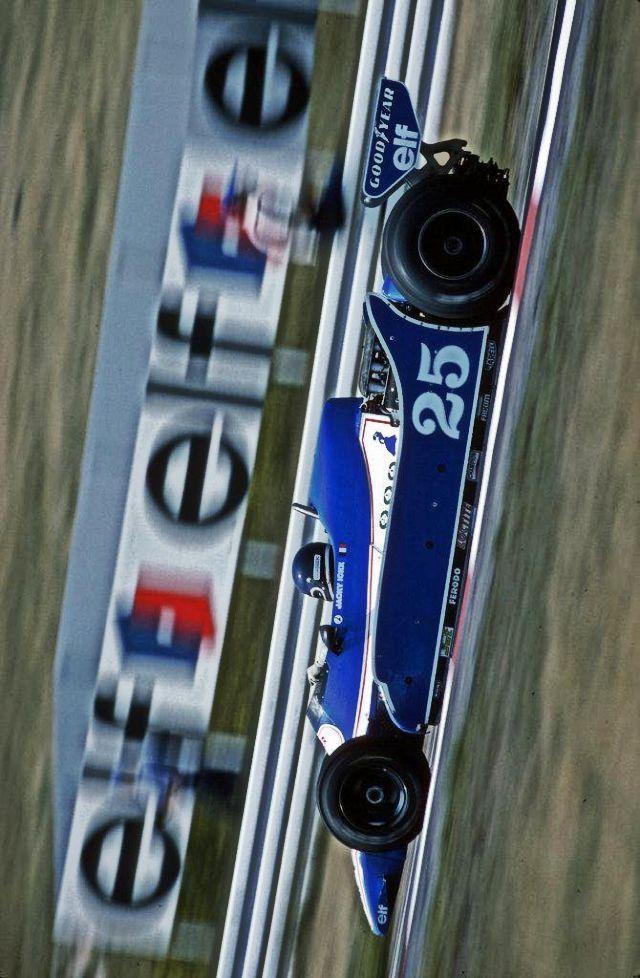 Jacky Ickx (BEL) (Ligier Gitanes), Ickx JS11 - Ford V8 , 1979 German GP, Hockenheimring #F1