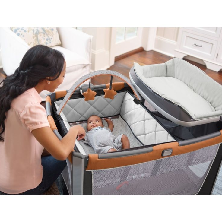 Amazon.com  Graco Pack u0027N Play Playard Smart Stations Tangerine  Baby  sc 1 st  Pinterest & 40 best At Home with Graco: Pack u0027n Play Playards images on ...