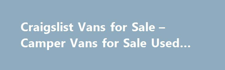 Best 25+ Van for sale ideas on Pinterest | Food carts for ...