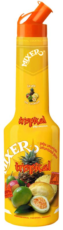 "Tsaknaki Bros Mixer Fruit Puree  Τα φρούτα απλά, άλλαξαν μορφή και έγιναν ""φρούτα σε μπουκάλι"". Οι συμπυκνωμένοι πουρέδες φρούτου Mixer®, αντιπροσωπεύουν την μεγάλη εξέλιξη στα cocktail, και έχουν γίνει απολύτως η καλύτερη εναλλακτική λύση στην χρήση των νωπών φρούτων."