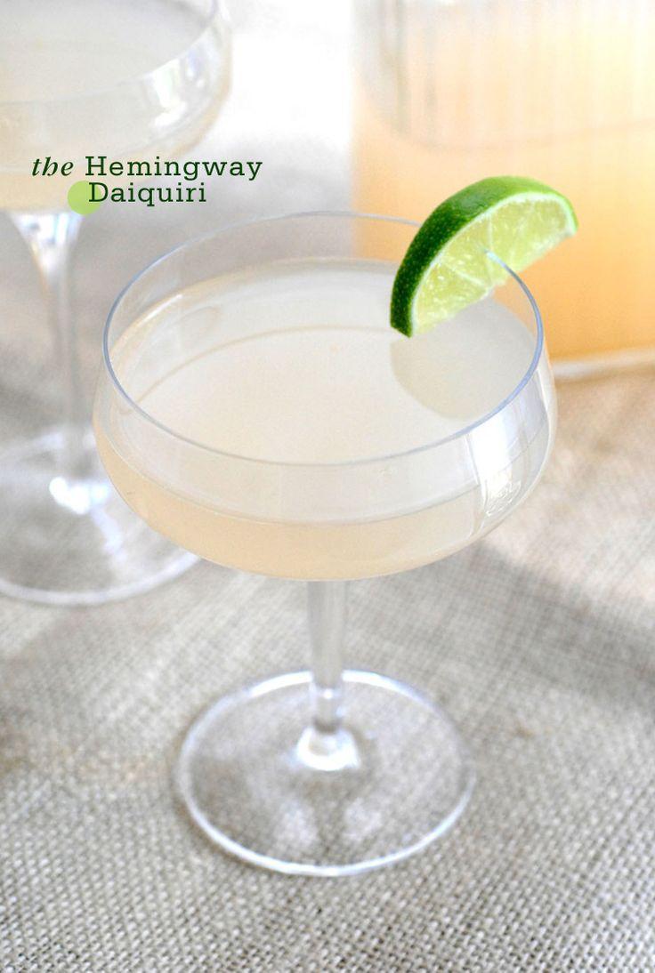 ... Daiquiri : rum : lime juice : grapefruit juice : maraschino liquor