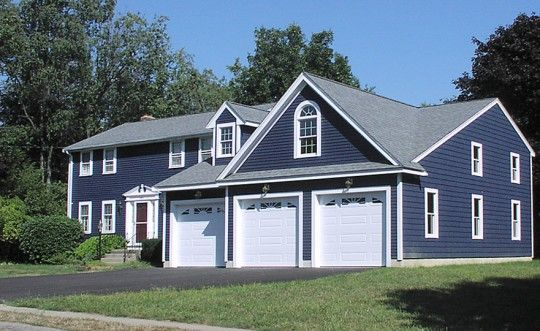 48 best images about garage ideas on pinterest 3 car for Attached garage plans with bonus room