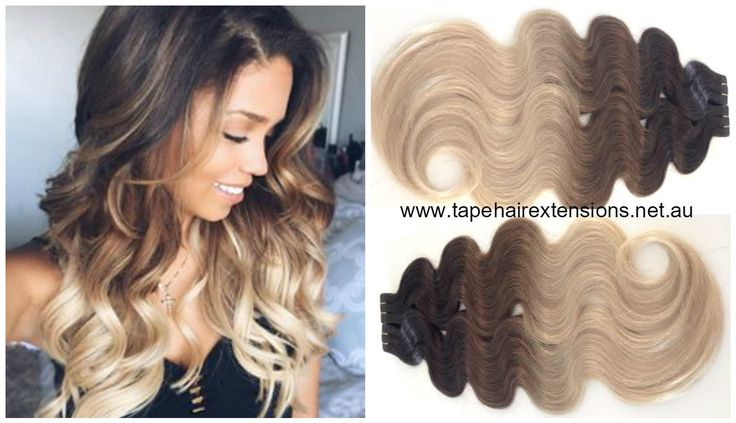 New Wavy Ombre / Balayage Collection -  The Most Incredible Range Of Wavy And Straight Ombre / Balayage Extensions On The Market. In Stock Available For Immediate Express Delivery Or Pick-Up www.tapehairextensions.net.au