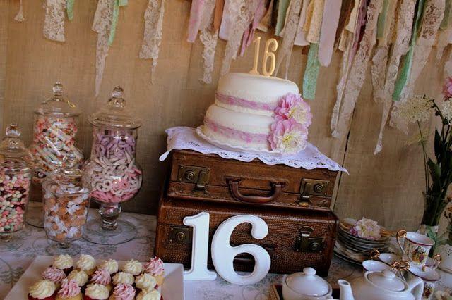 vintage pretty: Sweet Sixteen Surprise!!!