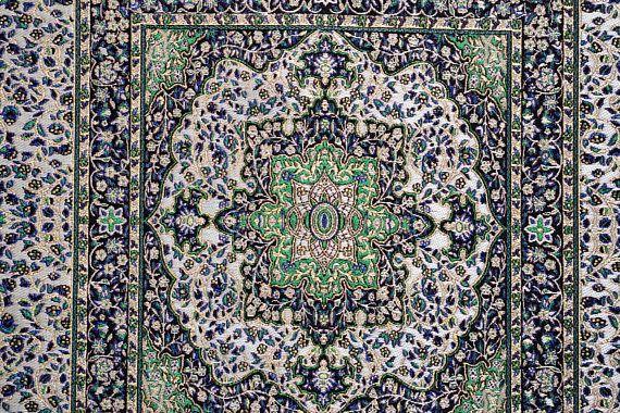 Carpet Design FabricChenille FabricEmbroidered FabricEthnic