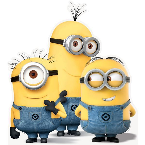 Minions Life Size Cardboard Cutout - Despicable Me