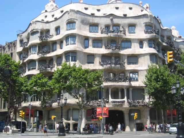 Barcelona - All Gaudi, all the time.