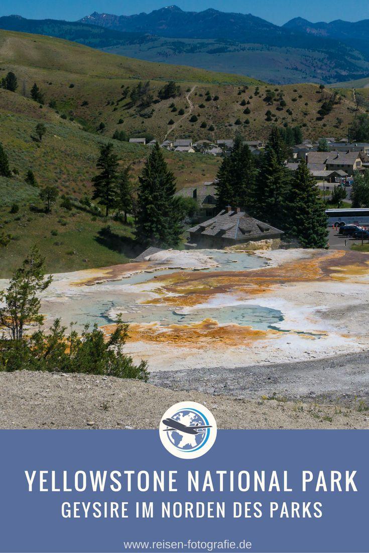 Geysire im Yellowstone National Park – nördlicher Teil