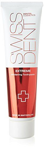 #Swissdent #Dental #Cosmetics #Extreme #Whitening #Toothpaste #100ml  Product Description #Swissdent #EXTREME is particularly suitable for strong tooth discoloration as a result of tobacco, tea, coffee or red wine. Way to the patented micro-technology, #EXTREME brightens the teeth very gently without scratching them. The low RDA value of 40 means a gentle and minimally-abrasive cleaning of the teeth. https://skincare.boutiquecloset.com/product/swissdent-dental-cosmetics-extre