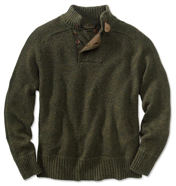 Just found this Wool Cashmere Sweater - Merino-Cashmere Donegal Sweater -- Orvis on Orvis.com!