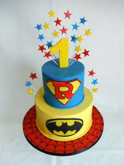 Süper Kahraman - Butik Pasta Tasarımı