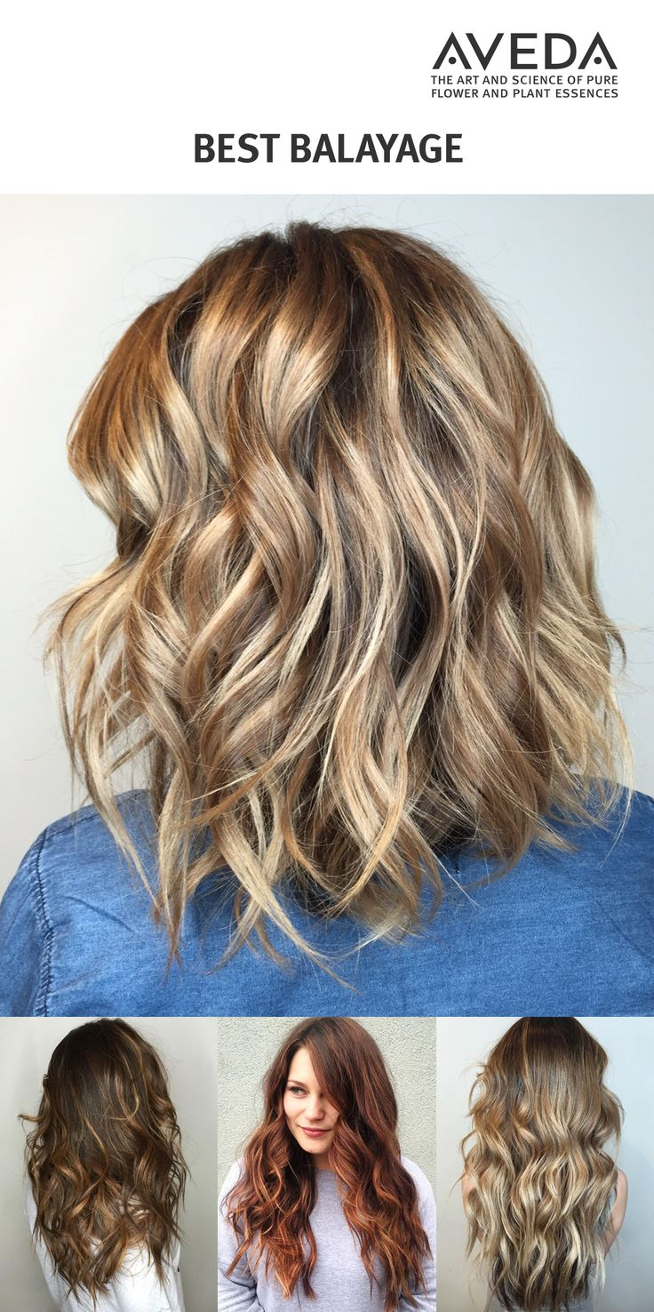 Get your best balayage ever. Hand-painted ribbons of blonde, caramel and auburn give hair of all textures and length dimension and brightness. (Images by @ohhmydaniel, @donebydemi, @jennkhair.)