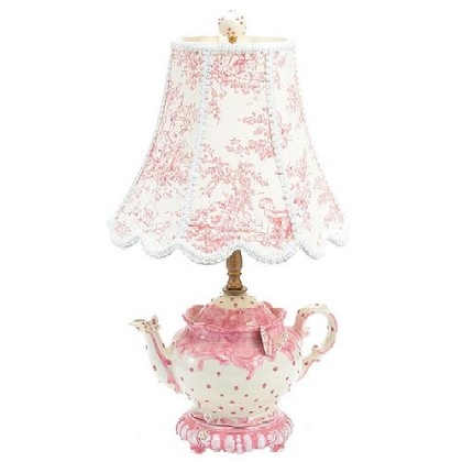 166 best what a pretty lamp images on pinterest chandeliers toile and teapot lamp aloadofball Image collections