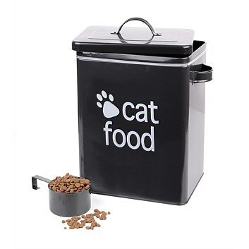 Storage Units & Solutions - Briscoes - Cat Food Tin Charcoal