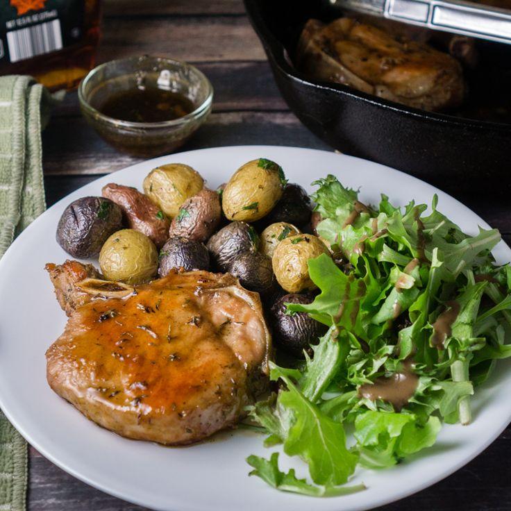 ... pork glazed pork chops pork recipes yummy recipies maple glaze dinner