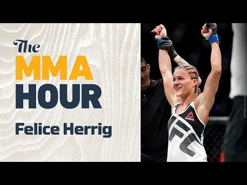 MMA Felice Herrig Explains Why Foe Justine Kish's Embarrassing In-Cage Accident Didn't Faze Her