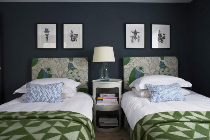 Blankets would look fab with a plain felt headboard in a child's room