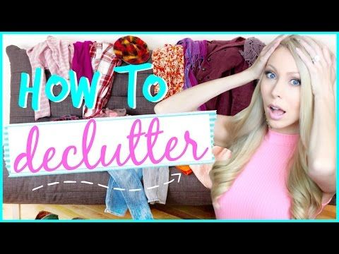 Declutter with me easy ways to organize your space - How to declutter your bedroom fast ...