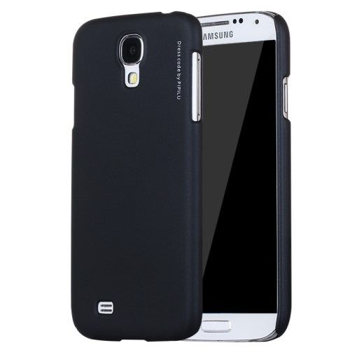 X-LEVEL Rubberized Hard PC Back Case for Samsung Galaxy S4 I9500 I9502 I9505 - Black