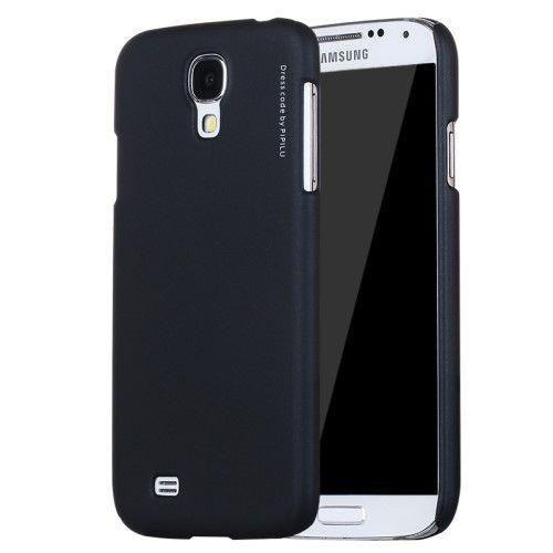 X-LEVEL Rubberized Hard PC Back Case for Samsung Galaxy S4 I9500 I9502 I9505 - Black