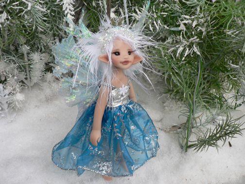 Snowflake+fairies | Blue Snowflake Princess