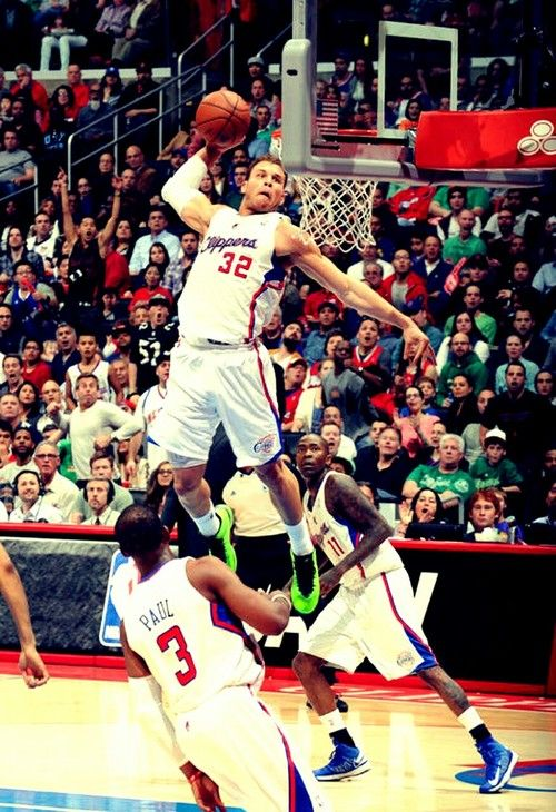 It has got to feel good to look down on the rim. #NBA #Dunk #Basketball