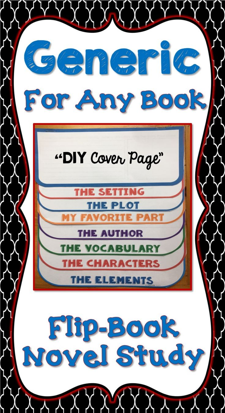 For ANY novel! This fun, interactive flippable is a great tool to study literature. Students will love learning literary elements like setting, plot, characterization, conflict, resolution and theme in this non-threatening format. It makes a great variation from the traditional book report.Each flip-book is ready to go and easy to assemble. Available in color or black and white, students love to put these projects together and prepare them.