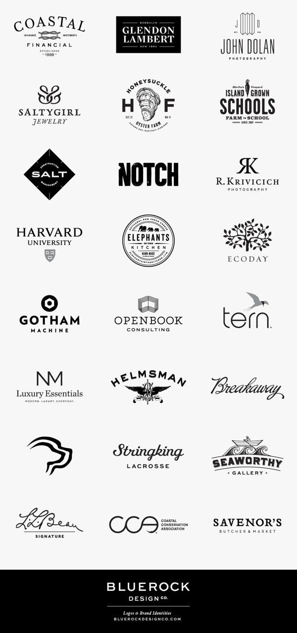 Logos by Bluerock Design