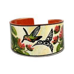 'Hummingbird' Artist Collection Copper Ring