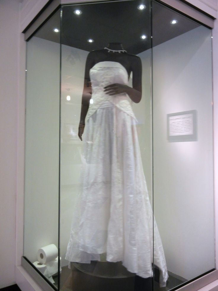 Wedding Dress Display Case For Closet