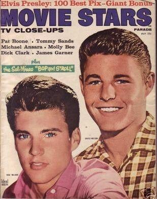 Ricky Nelson - Movie Stars Magazine [United States] (May 1958)