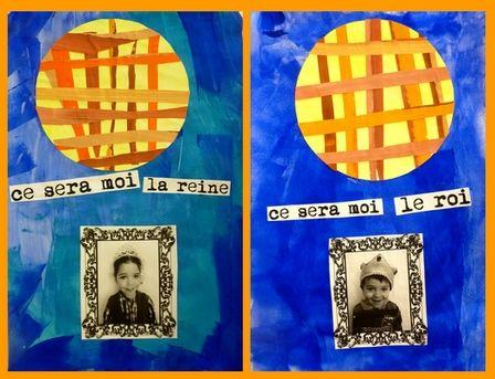 Tableau des rois ou reines http://pedagogie.ac-toulouse.fr/eco-saint-pierre-lafeuille-gigouzac/public/classe_maternelle/arts_plastiques/2012-2013/rois_reines2.jpg