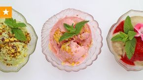 Мороженое в домашних условиях. Как вделать фруктовый лед. Три рецепта полезного мороженого. Диетическое мороженое из фруктов и ягод. Подписывайтесь на наши к...