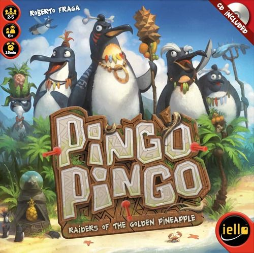 Bought. Pingo Pingo. A unique cooperative speed card game with a soundtrack. Comes with dart guns to shoot cardboard villains for when certain cards are revealed. Not yet in Amazon. Watch for it. Closest thing to this game is Escape: Curse of the Temple, but with a younger demographic.