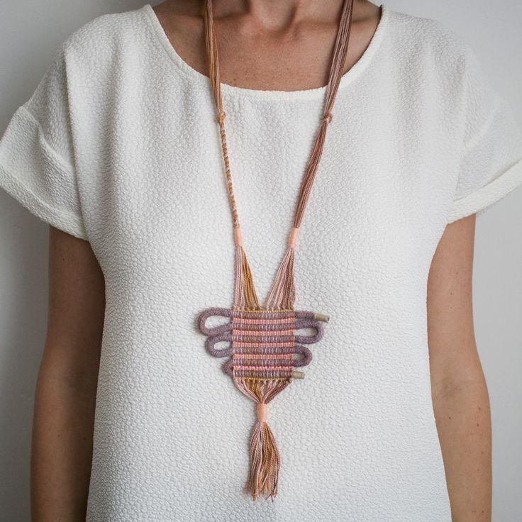 Yilan Necklace by Lesh   http://adornmilk.com